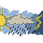 Allerta meteo, rischio idrogeologico e idraulico reticolo minore e temporali forti per oggi e domani (martedì 6 e mercoledì 7 ottobre)