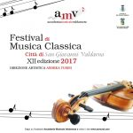 """FESTIVAL DI MUSICA CLASSICA """"CITTÀ DI SAN GIOVANNI VALDARNO"""" XII EDIZIONE 2017"""