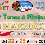 """TORNEO NAZIONALE DI MINIBASKET """"MARZOCCO"""" – 22 – 25 APRILE 2017"""