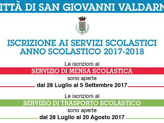 ISCRIZIONE AI SERVIZI SCOLASTICI A.S. 2017-2018