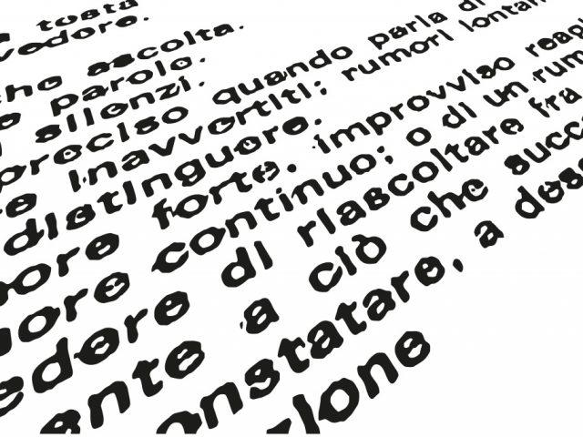 """FRANCESCO MICHI, MECHI CENA – VARIAZIONI SU """"FUORI"""" DI GIUSEPPE CHIARI – 18 – 26 NOVEMBRE 2017 – CASA GIOVANNI MANNOZZI"""