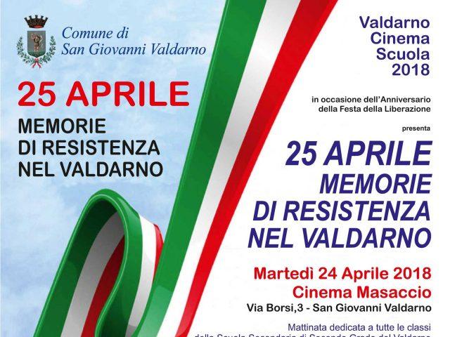 25 APRILE: MEMORIE DI RESISTENZA NEL VALDARNO