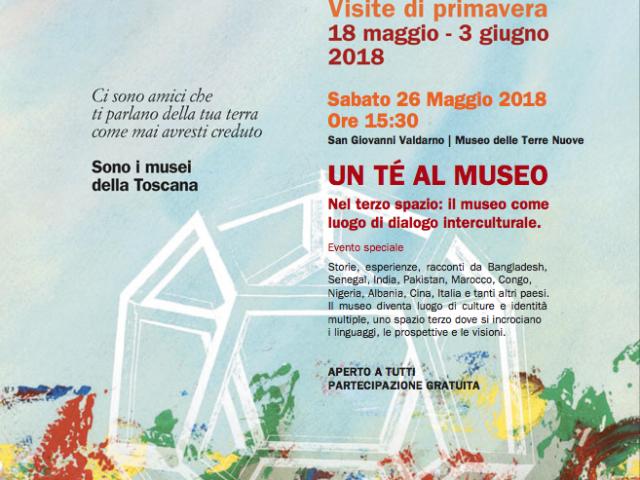 UN TÈ AL MUSEO – NEL TERZO SPAZIO: DIALOGO INTERCULTURALE IN MUSEO – SABATO 26 MAGGIO H15.30