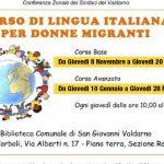 CORSO DI LINGUA ITALIANA PER DONNE MIGRANTI