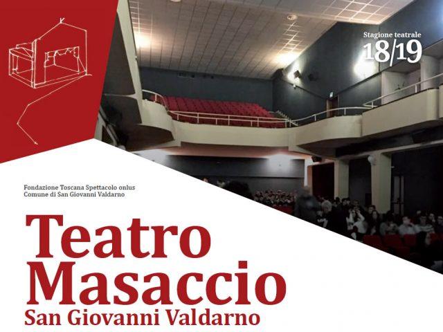 TEATRO MASACCIO – STAGIONE 2018-2019
