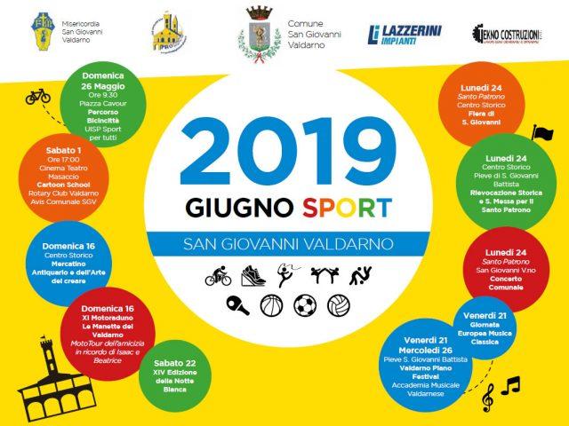 GIUGNO SPORT – 29 MAGGIO / 4 GIUGNO 2018