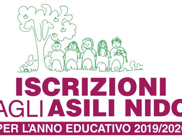 ISCRIZIONI AI SERVIZI EDUCATIVI ALLA PRIMA INFANZIA  PER ANNO EDUCATIVO 2019-2020