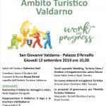 AMBITO TURISTICO VALDARNO – WORK IN PROGRESS – PALAZZO D'ARNOLFO – 12 SETTEMBRE 2019 ORE 10.00