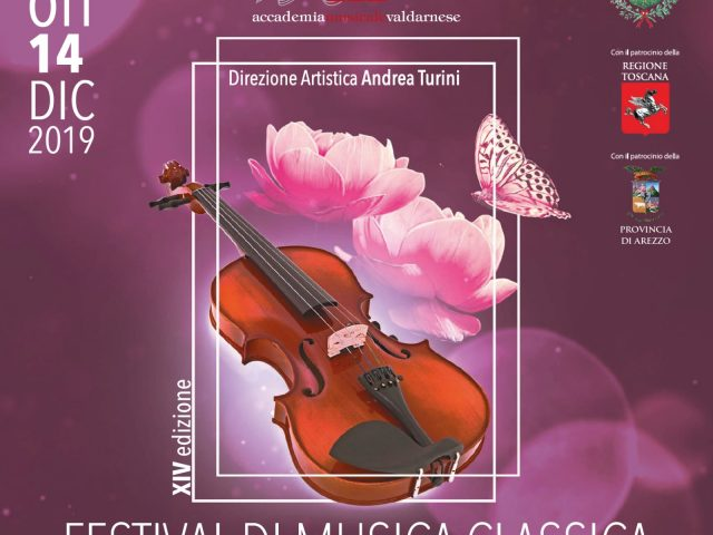 FESTIVAL DI MUSICA CLASSICA – CITTÀ DI SAN GIOVANNI VALDARNO – 19 OTTOBRE – 1 DICEMBRE 2019