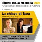 GIORNATA DELLA MEMORIA 2020 – 27 GENNAIO