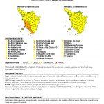 BOLLETTINO DI VIGILANZA METEO (cod. Giallo) PER MARTEDÌ 04 E MERCOLEDÌ 05 FEBBRAIO 2020
