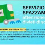 Spazzamento e pulizia strade: dal 3 Giugno ripartono controlli e sanzione dalle Polizia Municipale