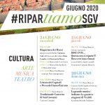 #riparTIAMO SGV: le iniziative culturali di inizio estate a San Giovanni Valdarno, tra arte, musica e teatro