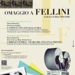 """""""FELLINI100"""" a San Giovanni Valdarno: un omaggio a Federico Fellini con due appuntamenti dedicati al suo cinema e alla sua musica"""