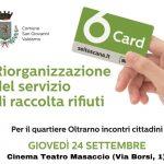 Raccolta rifiuti, domani al cinema Masaccio il primo incontro con la cittadinanza per presentare la riorganizzazione