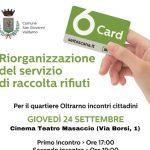Raccolta rifiuti, domani al circolo Arci G. Simonti il secondo incontro con la cittadinanza per presentare la riorganizzazione del servizio