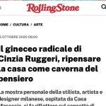 """Casa Masaccio, su Rolling Stone Italia la mostra di Cinzia Ruggeri """"…per non restare immobili"""", visitabile fino all'8 novembre"""