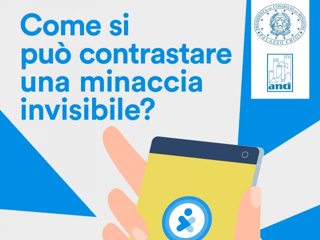 App Immuni, aiutaci a spezzare la catena del contagio: Anci promuove la campagna di comunicazione della Presidenza del Consiglio dei Ministri