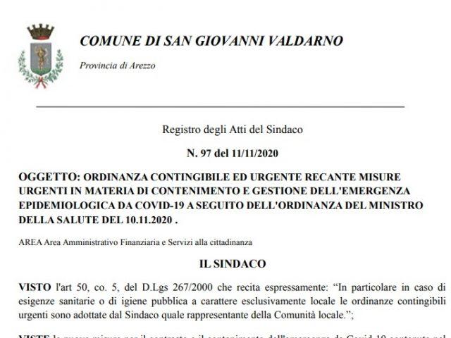Covid-19, Ordinanza del Sindaco: da oggi (mercoledì 11 novembre) nuove regole per l'accesso agli uffici e ai servizi pubblici