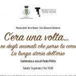 """Museo delle Terre Nuove, sabato 16 gennaio la conferenza a cura del Prof. Paolo Pirillo: """"C'era una volta… un re degli animali che perse la corona. La lunga storia dell'orso"""""""