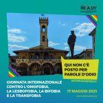 San Giovanni celebra la giornata internazionale contro l'omofobia, la lesbofobia, la bifobia e la transfobia