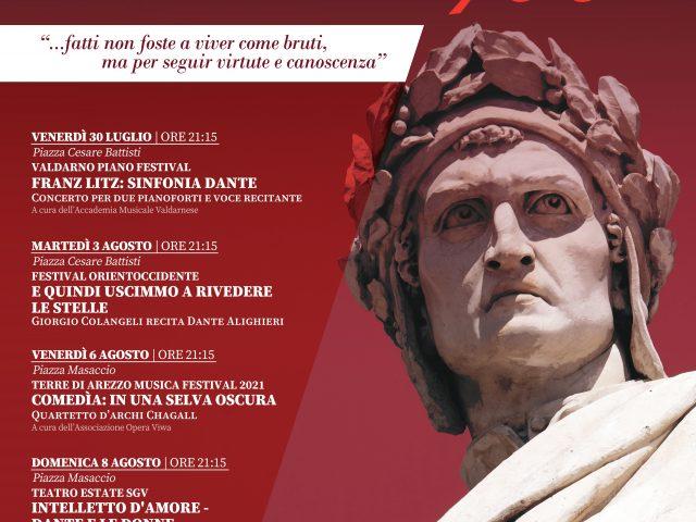 San Giovanni omaggia il Sommo Poeta