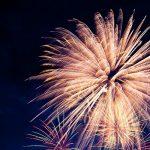 Fuochi d'artificio chiudono la Festa del Perdono 2021 a San Giovanni