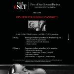 Concerto per violino e pianoforte alla Pieve di San Giovanni Battista